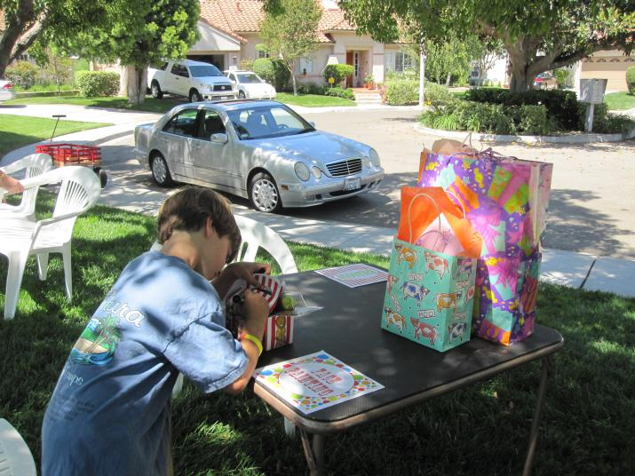 Madeline's 4th Birthday Party - Santa Paula, CA